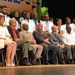 Graduation of Guyanese doctors in homage to Fidel.